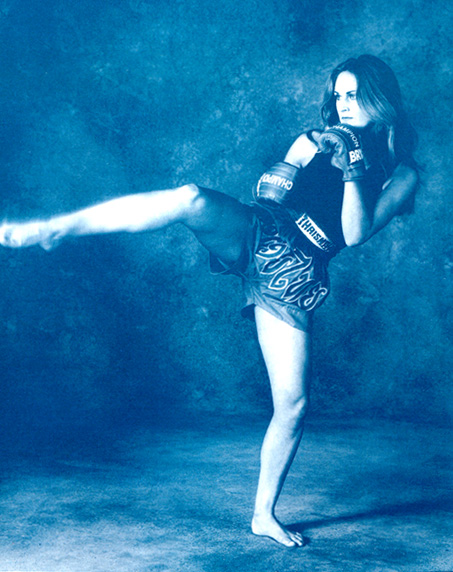 Muay Thai Blue